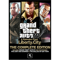 Grand Theft Auto IV: The Complete EditionPC