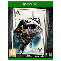Batman: Return To ArkhamXbox OneCover Art