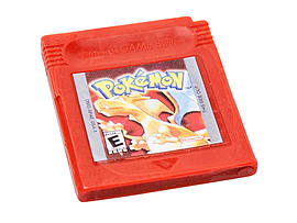 Retro game cartridge soap (Pokemon Red)Memorabilia
