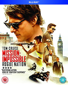 Mission Impossible Rogue NationBlu-ray