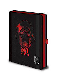 Star Wars Episode 7 force awakens kylo Ren mask new Official premium A5 NotebookSize:Stationery