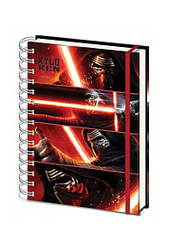 Star Wars Episode 7 force awakens kylo Ren saber new Official spiral A5 NotebookSize:Stationery