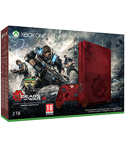 2TB Xbox One S Gears of War 4 Limited Edition Console for XBOX ONE