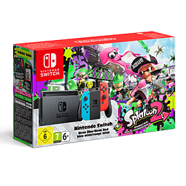 Limited Edition Nintendo Switch Neon and Splatoon 2Switch