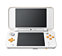 New Nintendo 2DS XL White + Orange screen shot 1