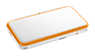 New Nintendo 2DS XL White + Orange screen shot 2