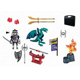 Playmobil Knights Carrying Case Dragon Knight screen shot 1
