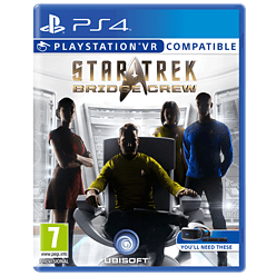 Star Trek Bridge Crew PlayStation VRPlayStation 4