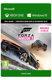 Forza Horizon 3: Deluxe Edition (Digital)