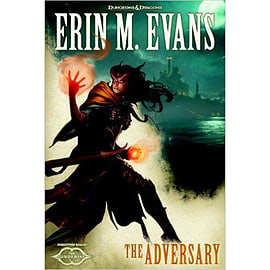 The Adversary - the Sundering 3 Forgotten Realms Hardcover D&D Dungeons & Dragons Erin Evans AuthorBooks