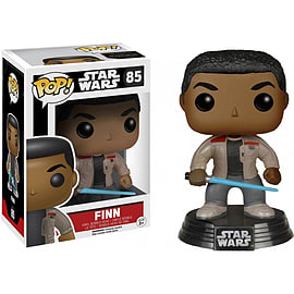 Finn (With Lightsaber) - Star Wars (Episode 7): The Force Awakens - Pop! Vinyl Figure - FunkoFigurines