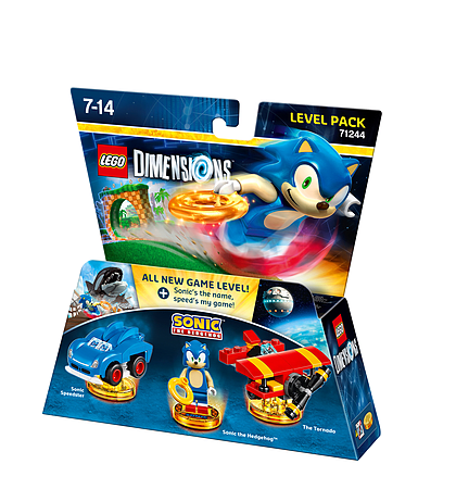Buy Sonic the Hedgehog Level Pack - LEGO Dimensions | Free UK ...