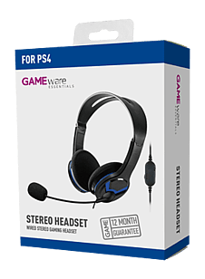 GAMEware Stereo Headset - PlayStation 4