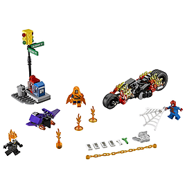 Lego Super Heroes Spider-Man Ghost Rider Team-upBlocks and Bricks