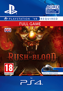 Until Dawn Rush of BloodPlayStation 4