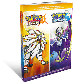 Pokémon Sun and Moon Strategy GuideBooks
