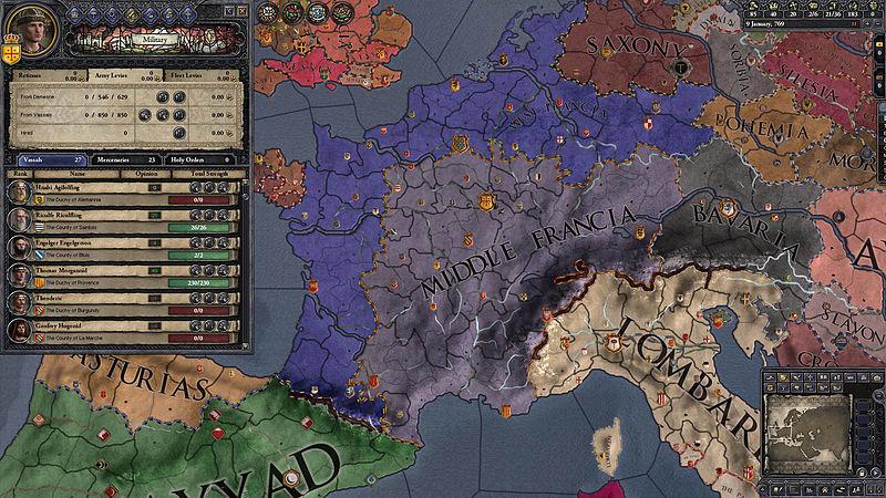 Crusader Kings II: Early Western Clothing Pack (DLC)