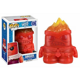 Anger (Inside Out) Crystal Limited Edition Funko Pop! Vinyl FigureFigurines