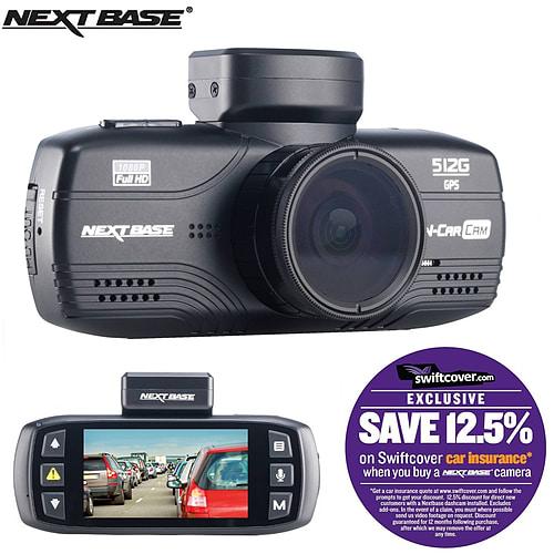 Nextbase 512G Car Dash Dashboard Video Camera 2.7 1080P HD DVR Cam Anti-Glare