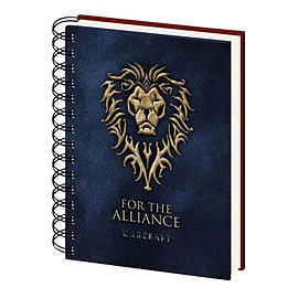 Warcraft Notebook Choose a Side Official New 80 Page Lined Spiral (21cm x 15cm)Stationery