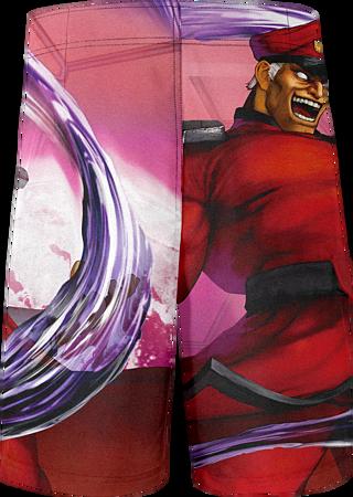 958ed46990 Buy Swimwear: Street Fighter Bison Shorts - Size: M | GAME