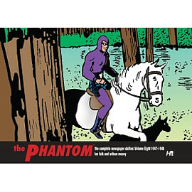 The Phantom The Complete Newspaper Dailies Volume 8 (1947-1948) HardcoverBooks