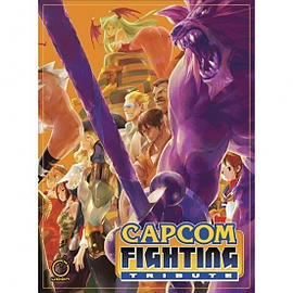 Capcom Fighting Tribute HardcoverBooks