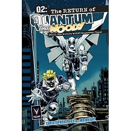Q2 The Return of Quantum and Woody Deluxe HardcoverBooks