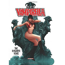 Art of Vampirella The Dynamite Years HardcoverBooks