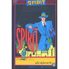 Will Eisners Spirit Archives HC Vol 02Books