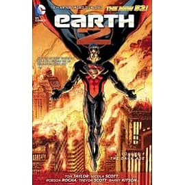 Earth 2 Volume 4 The Dark Age Hardcover The New 52Books