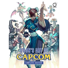 UDON's Art of Capcom Complete Edition HardcoverBooks