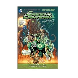 DC Comics Green Lantern Volume 5 Test Of Wills New 52 PaperbackBooks