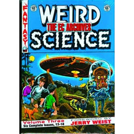 EC Archives Weird Science Volume 3Books