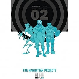 The Manhattan Projects Deluxe Edition Book 2Books
