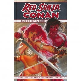 Red Sonja / Conan: The Blood of a God HardcoverBooks