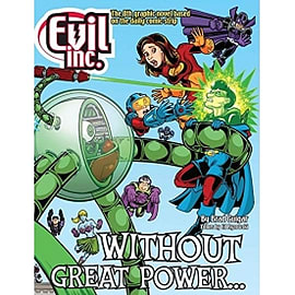 Evil Inc, Volume 8 Without Great Power...Books