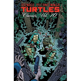 Teenage Mutant Ninja Turtles Classics Volume 10 PaperbackBooks