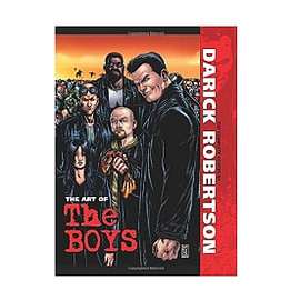 The Art of The Boys The Complete Covers HardcoverBooks