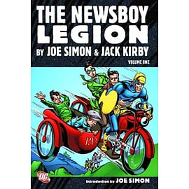 Newsboy Legion By Simon And Kirby HC Vol 01Books