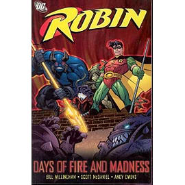 Robin Days Of Fire And MadnessBooks