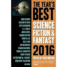 The Year's Best Science Fiction & Fantasy 2016 EditionBooks