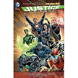 Justice League Volume 5 The New 52 HardcoverBooks
