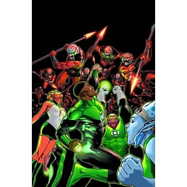 Green Lantern Corps The Lost Army: Volume 1Books