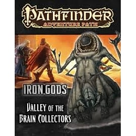 Pathfinder Adventure Path Iron Gods Valley of the Brain Collectors PaperbackBooks