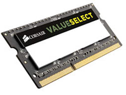 CMSO2GX3M1A1333C9 CORSAIR VALUE SELECT 2GB MODULE DDR3 1333MHz 1.5V STANDARD SO-DIMM - CMSO2GX3M1A13PC