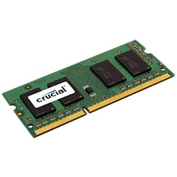 CT102464BF186D Crucial Technology 8GB DDR3 1866 MT/s (PC3-14900) CL13 SODIMM 204pin 1.35V/1.5V - CTPC