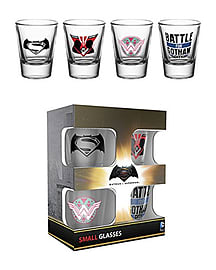 Batman Vs Superman Mix Shot GlassesHome - Tableware