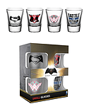 Batman Vs Superman Mix Shot Glasses screen shot 1