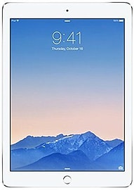 Apple iPad Air 2 16GB Wi-Fi Silver Very Good ConditionTablet